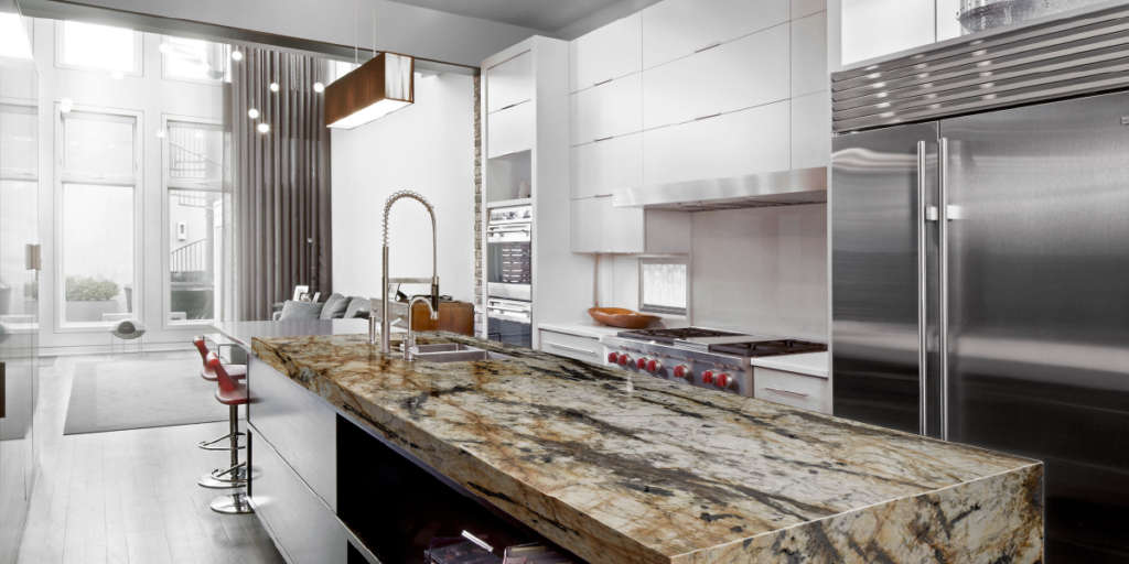 Choose The Right Size For Your Kitchen Island The Biggest Granite Wholesale In Houston Tx Terra Granite